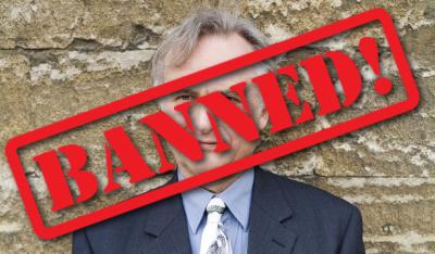 Dawkins Banned