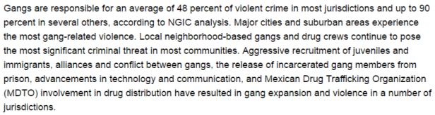 Gangs h